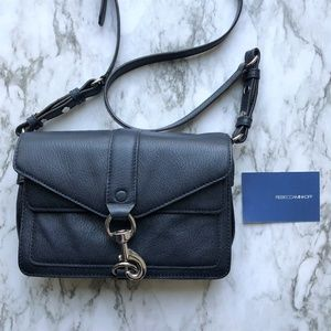 Rebecca Minkoff Navy Mini Hudson Moto Bag